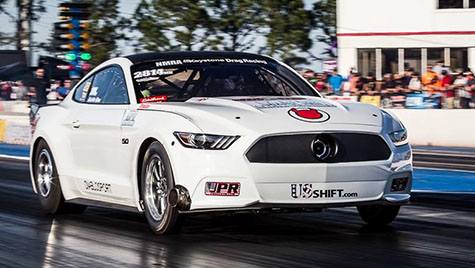 US Shift sponsored race car