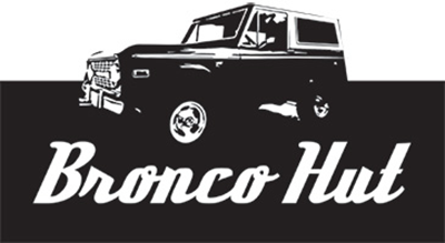 Bronco Hut logo
