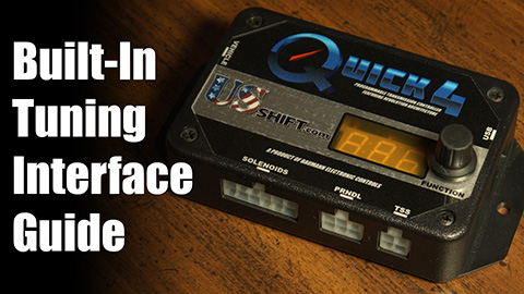 Built-In Tuning Interface Guide