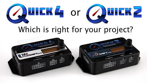 Quick 4 and Quick 2 comparison video